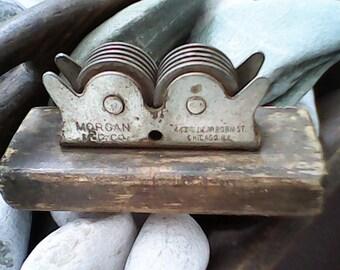 ANTIQUE KNIFE SHARPENER Morgan Mfg. Co. Magic Chicago Ill
