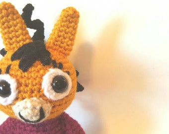 ZOI from Trotro Crochet - Stuffed Animal