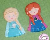 Princess Elsa and Anna Ca...