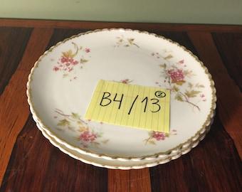 1 Antique Floral Plate