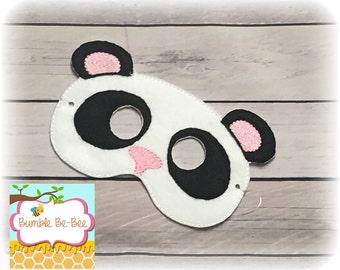 Panda mask animal mask panda costume adult costume