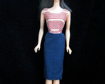 Vintage Barbie #968 Roman Holiday Dress