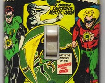 Green Lantern Light Switch Cover Plate - Green Lantern 88 Alan Scott  DC Comics