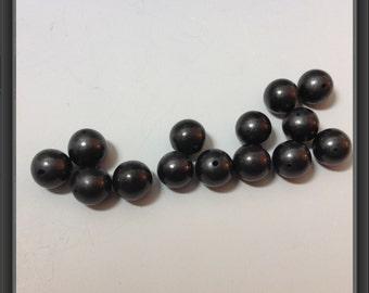 Shungite bead 10mm