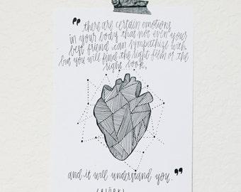 art & heart | print