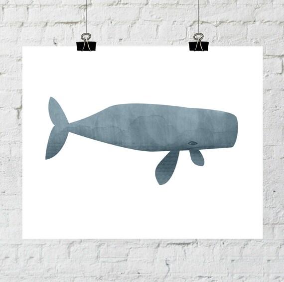 Whale Print, Printable, Printable Wall Art, Whale Art, Ocean Animals, Printable Art, Whale Wall Art, Ocean Art, Whale Art, Nursery Printable