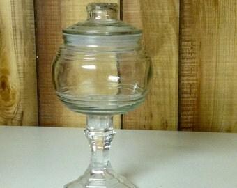 Decorative Glass Jar.