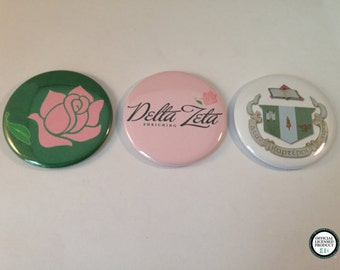 Delta Zeta Pocket Mirrors and Magnets