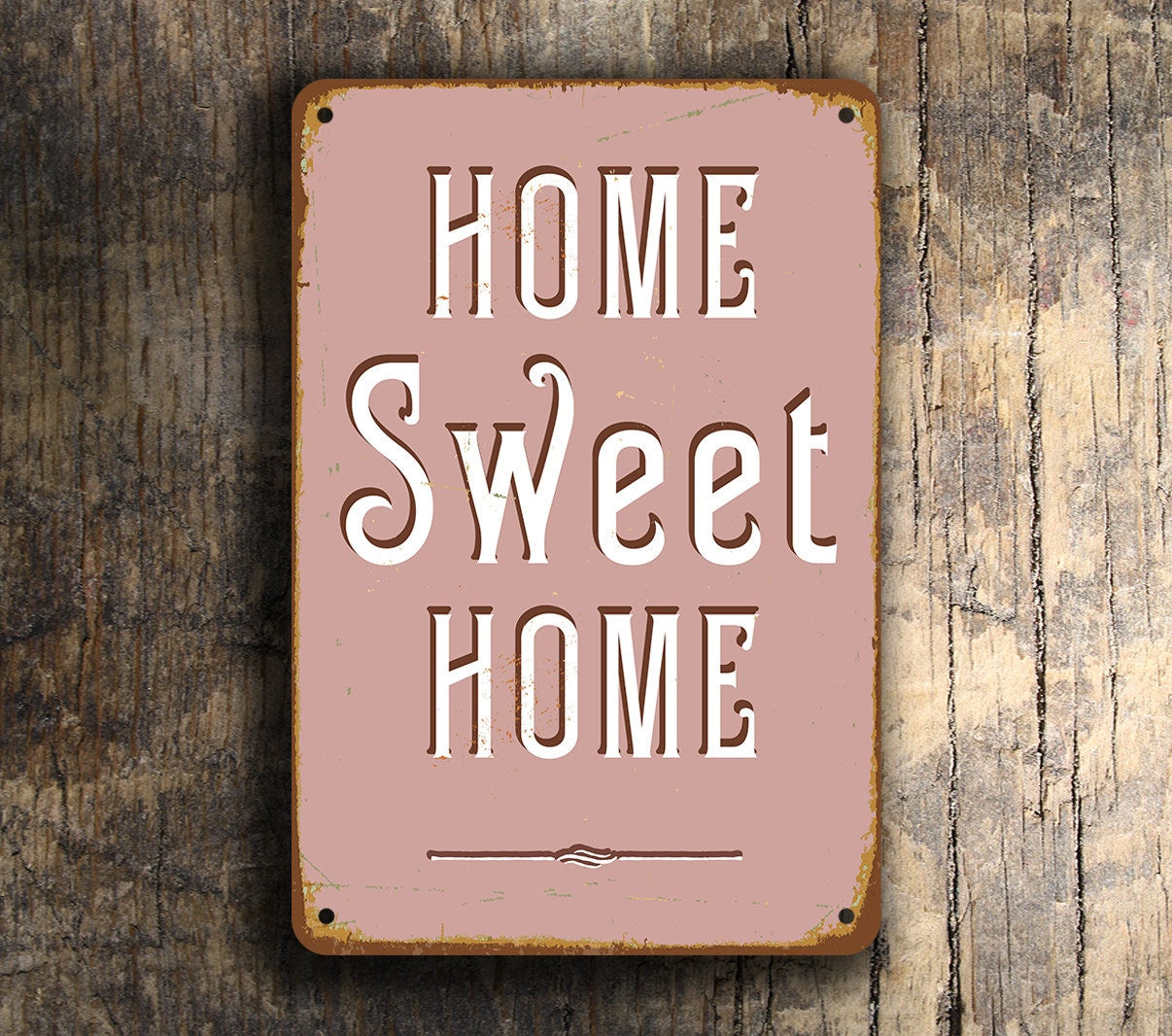 home sweet home sign vintage style home sweet home sign home. Black Bedroom Furniture Sets. Home Design Ideas