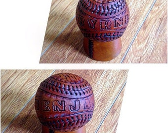 Custom Leather Baseball