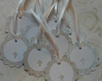 SALE!!!! 3.75 (Christening/Baptism Tags (12)