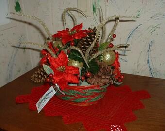 Christmas/Winter Center Piece