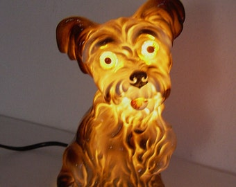 lovely old  porcelain perfume lamp  Scotty dog Carl Scheidig Gräfenthal