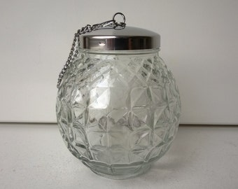 WMF, Silver-Plated Ice Cooler for Punch Bowl, Crystal Glass, West-Germany, 1950s