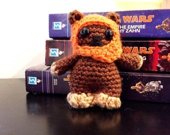 Wicket Ewok Crochet Doll - Wicket Ewok Plush - Star Wars Wicket Ewok Plush - Wicket Ewok Amigurumi