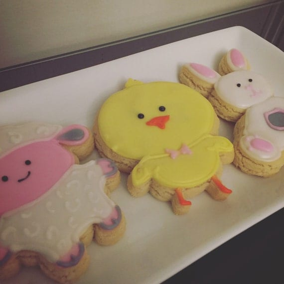 Easter Cookie Favors