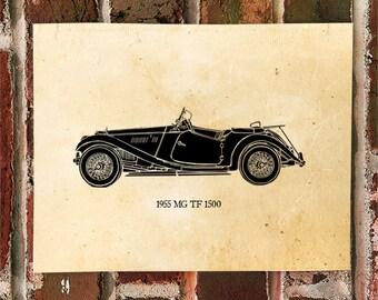 KillerBeeMoto: Limited Print 1950's British Roadster 1 of 50