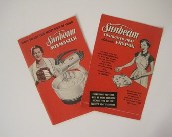 sunbeam electric fry pan instructions