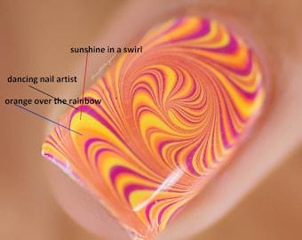 Water Marble Nail Polish, Nail polish