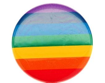 Rainbow ID Badge Reel - Nurse ID Badge - SassyBadge  - Retractable Badge Reel