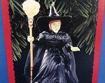 1996 Witch of the West Hallmark Wizard of Oz Hallmark Retired Ornament