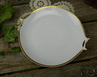 Antique Norfolk Hutschenreuther Selb Bavaria 2 Handled Serving Plate - Platter