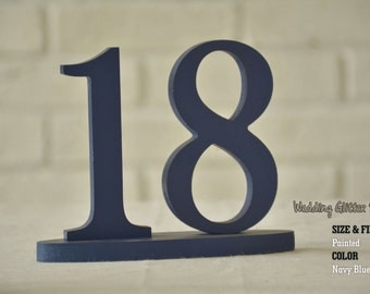 Silver Wedding Table Numbers, Gold Table Number for Weddings,Table Number, Wedding Table Decor, Wedding Reception Table, 10 table numbers