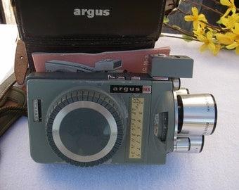 Vintage Movie Camera Argus Match-Matic M-3 8MM Film Movie Camera