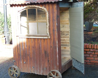 Garden Shed - Chicken Shed, Rustic, Upcycled