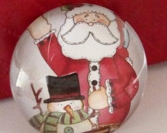 Christmas Cabochon