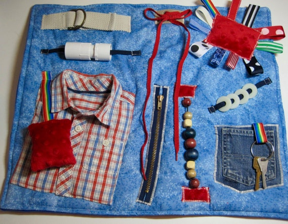 Masculine Style Red Amp Blue Plaid Shirt On Blue Fidget