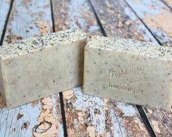 Gardener's Soap / Kitchen Soap/ Exfoliating Soap/ All Natural Cold Process Soap / Vegan Soap / Artisan Soap