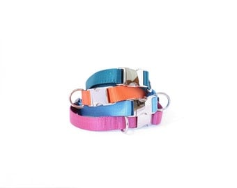 Handmade Nylon Dog Collar