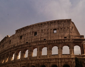 Colosseum, Coliseum of Rome, Fine Art Print, Colosseo photography, Italy, Rome wall decor, Rome Art, Historical, Ancient Rome, travel photo