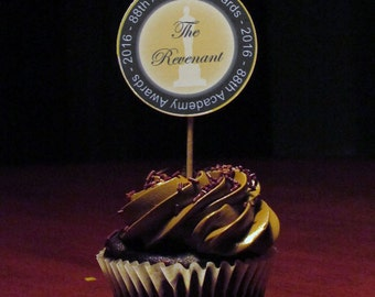 Oscars Cupcake Toppers, Table Confetti