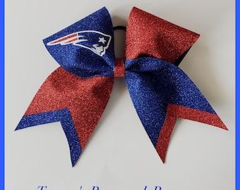 Cheer Bow New England Patriots