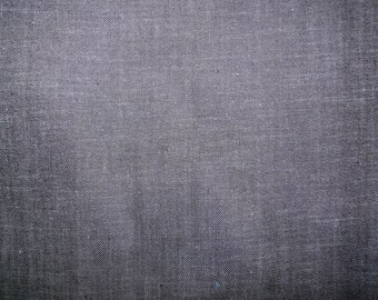 Fabric - Dark indigo denim - half metre