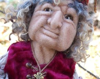 Baba Yaga doll