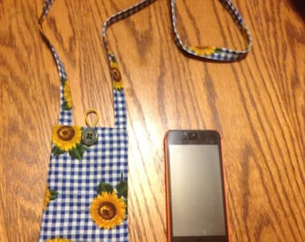 "Over Your Head ""holder""                       Sunflowers (sunglasses/cell phone)"