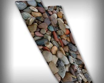 Compression Sleeve Arm Apparel Novelty Streetwear Custom Graphic Design - River Rock