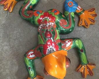 Talavera Frog- Wall Art