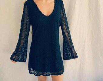 The Stevie lace mini dress