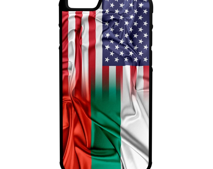 Bulgaria Us Flags iPhone Galaxy Note LG HTC Hybrid Rubber Protective Case