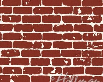 Grafic - Brick Wall Brick - Latifah Saafir - Hoffman Fabrics (P4274-37)