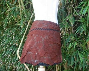 Arethusa   lace pixie skirt