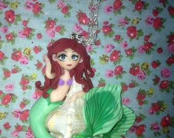 Ariel necklace in fimo