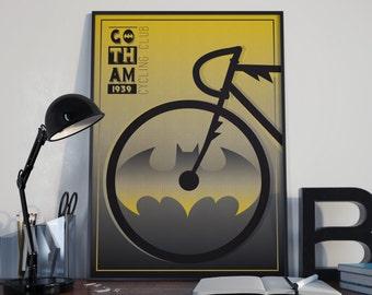 Gotham city cycling club