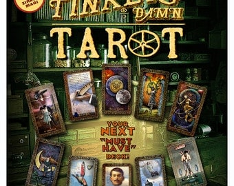 TINKER'S DAMN TAROT - 78-card deck in Two Sizes