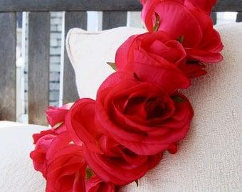 Pink Rain Rose Crown