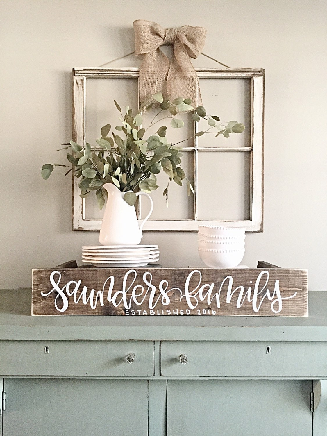 Rustic Design Ideas: Last Name Sign Rustic Home Decor Wedding Established